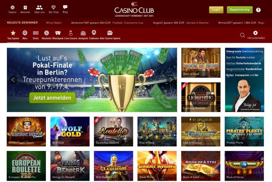 Casino Club Deutsch