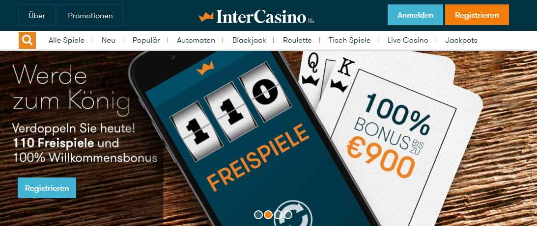intercasino angebot