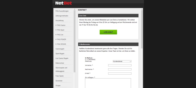 netbet service